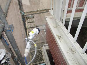 雨漏り散水調査 (1)